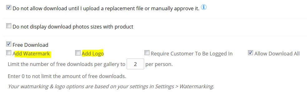 Free downloads without watermark - Support Forum | Sytist | PicturesPro