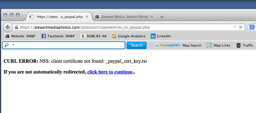 Paypal Payment Pro - Not Working (Lost Cert Key File