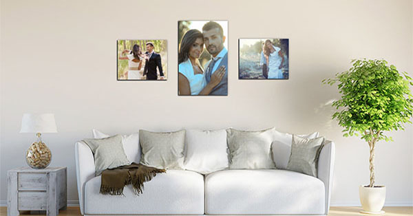 View photos on a wall with the Wall Designer